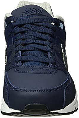 details for amazon run shoes Nike Men's Air Max Command Leather Sneakers, Blue (Obsidian/Mtllc ...