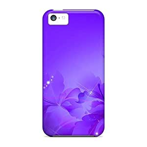 Mwaerke Case Cover For Iphone 5c - Retailer Packaging Glorious Purple Protective Case by icecream design