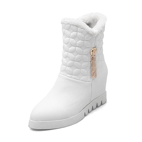 1TO9 - Stivali da Neve Donna, Bianco (White), 35