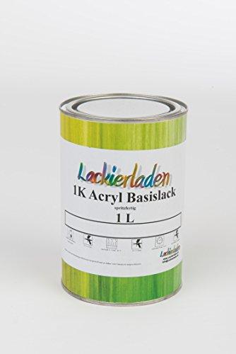 Citroen Basislack 1,0 Liter Acryl spritzfertig EWA BLANC/BLANCO CREMANT