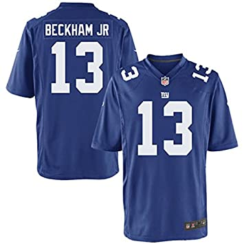 on sale 2024c 9442b Amazon.com : Nike New York Giants Odell Beckham Jr. Blue ...
