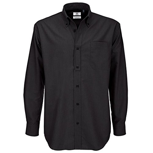 6xl black dress shirts - 5