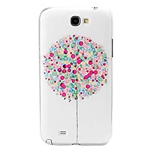 DUR Flowers and the Beach Pattern PU Leather Cover with Stand for iPhone 6