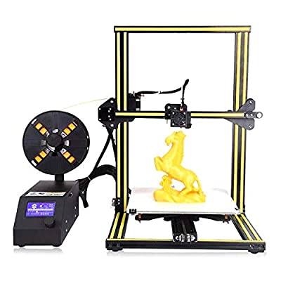 GOWE 3D Printer 0.1mm High Precision FDM 300300400mm Portable Desktop Industrial Grade PLA Consumable LCD On/Off-Line