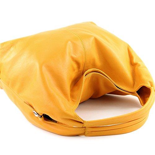Sonnengelb l'épaule porter Made Sac à pour à femme Italy Wn8qAfBp