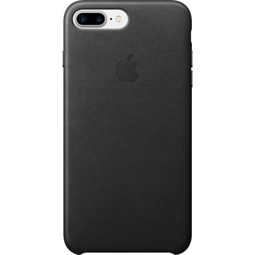 apple iphone 8 leather case black