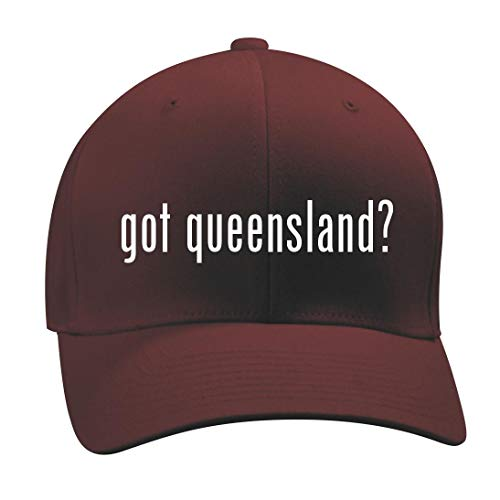 got Queensland? - A Nice Men's Adult Baseball Hat Cap, Maroon, Large/X-Large