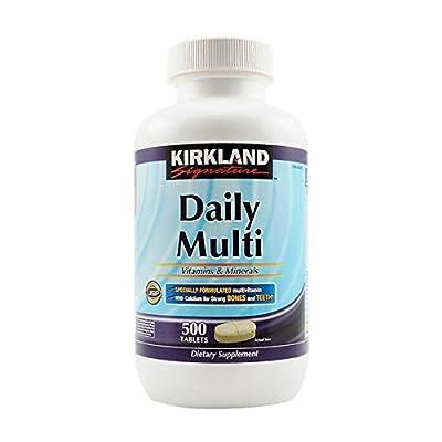 Kirkland Signature Daily Multi Vitamins & Minerals Tablets