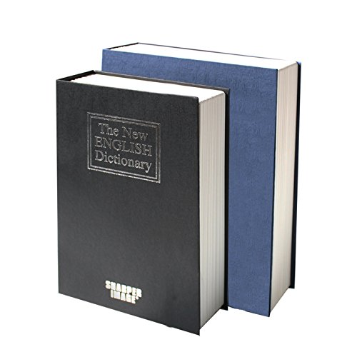 Doble Caja Fuerte Seguridad Forma De Libro Con Pasta Dura