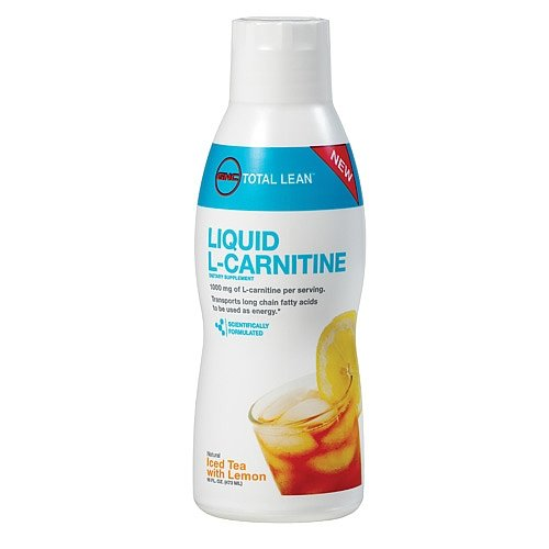 GNC Total Leantrade Liquid L-Carnitine - Iced Tea with Lemon 16 fl.oz.