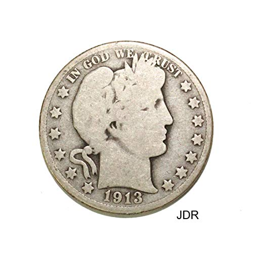 1913 D Barber Half Dollar Half Dollar Very Good ()