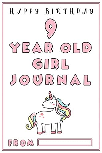 9 Year Old Girl Journal Girls First Journal With Black And White Ruled Lines Birthday Gifts For Girls 9 Year Old Girl Gifts Girls Birthday Gifts Bubbles Unicorn 9781987610840 Amazon Com Books