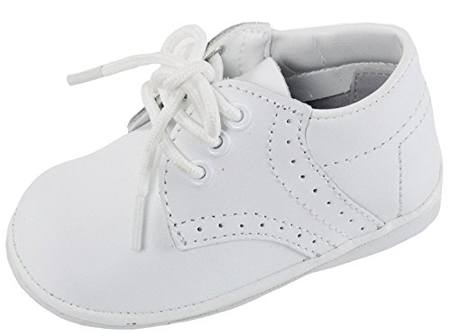 (iGirlDress Angels Garments Baby Boys White Oxford Christening Shoes Size)