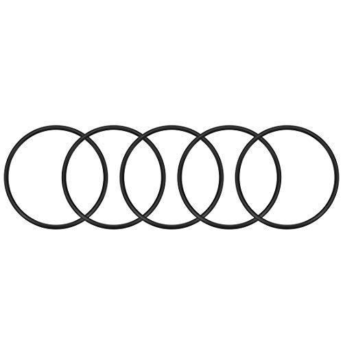 Nitrilgummi O-Ring /Ø Innen 53mm Au/ßendurchmesser 58,3mm Breite 2,65mm Runddichtung 5er Set
