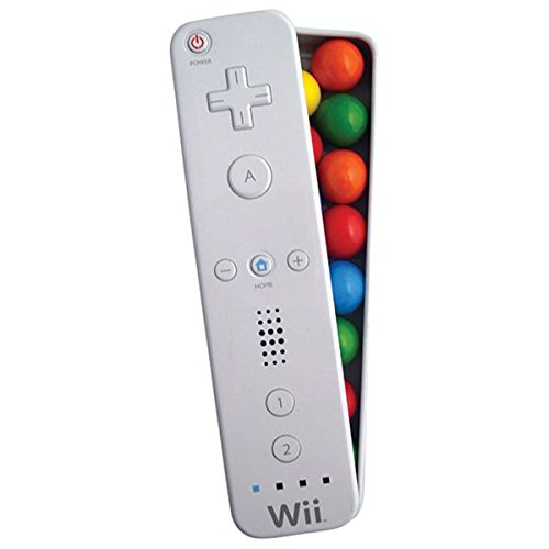 Nintendo Wii Controller Candy Tin with Peppermint Gum (1 Tin) -