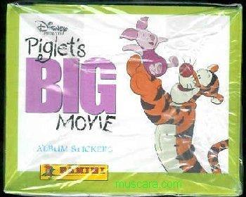 Piglet Big Movie Box 50 Packs Stickers Panini