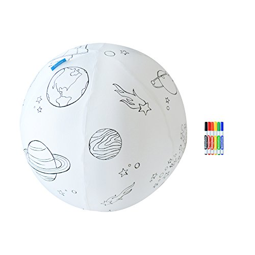 Seedling Color The Galaxy Inflatable Ball Kit
