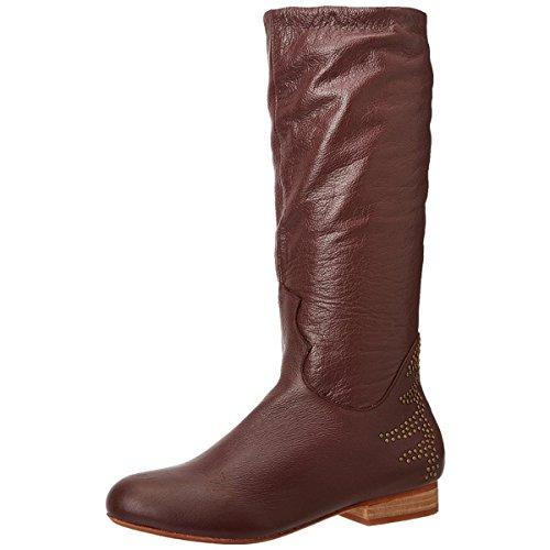 Fiel Citron Femmes Cramoisi Nappa Boot Crimson