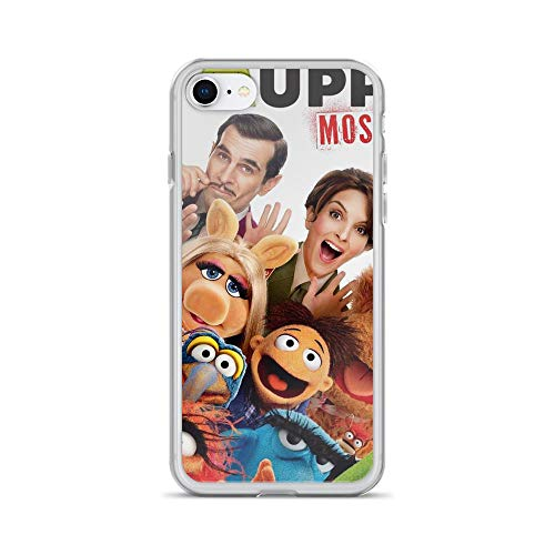 Horseshoe's Compatible with iPhone 7/8 Case The Muppet Movie Casts Pure Clear Phone Cases Cover