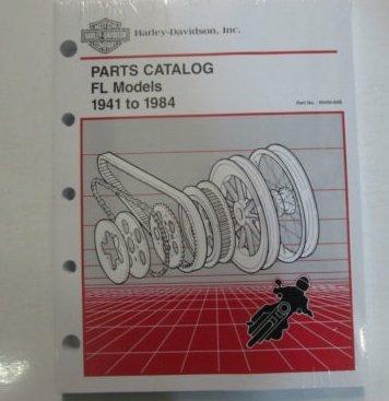 1965 1966 1967 1968 1969 1970 1971 1972 Harley Davidson FL Parts Catalog Manual