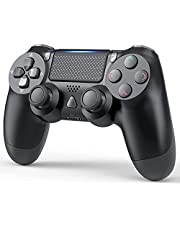 PS4 Controller Dualshock 4 Wireless Bluetooth Gamepad Joystick with Double Vibration and Audio Function for Sony Playstation 4,Playstation 4 Pro,Windows,PC and Laptop(Upgraded)
