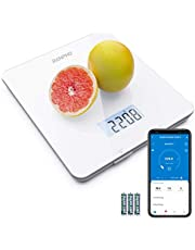 RENPHO Digital Food Scale, Kitchen Scale for Baking, Cooking and Coffee Scale with Nutritional Calculator for Keto, Macro, Calorie and Weight Loss with Smartphone App, White