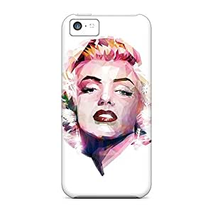 Iphone High Quality Tpu Case/ Abstract Monroe HRXGiJU7262EXPnZ Case Cover For Iphone 5c