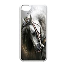 Horse Hard Unique Designer Slim Pattern Thin Protective Shockproof Case for iPod touch 6