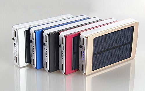 Price comparison product image 30000mAh Dual USB Portable Solar Battery Charger Power Bank For Cell Phone