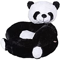 Trend Lab Childrens Plush Character Chair, Panda, White