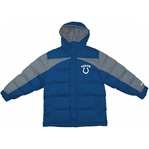 Indianapolis Colts NFL Toddler Size Quilted Parka Jacket (Toddler 4T) ()