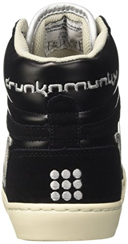 DrunknMunky Nero Women's Blacksilver Tennis Vitaminix Boston axrwqYFa