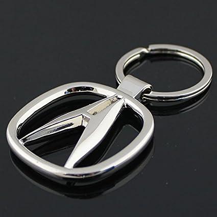 Amazoncom ACURA D Metal Car Logo Keychain Automotive - Acura symbol for car
