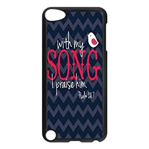 Unique Design Case for iPod touch5 w/ Musical Words image at Hmh-xase (style 4)