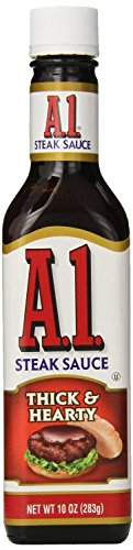 A.1. Sauce 10oz Glass Bottle (Pack of 4) Select Flavor Below (Thick & ()