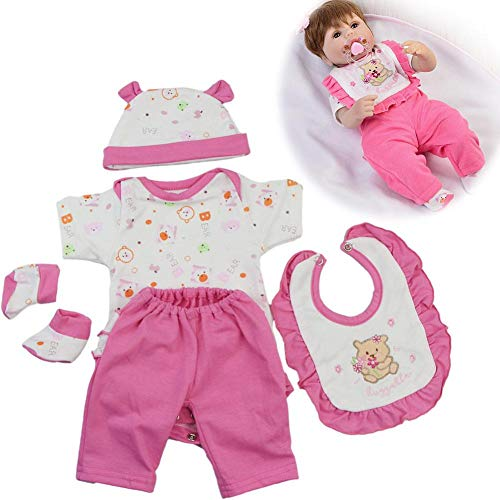17 Inch Doll Clothes - totalshop Baby Doll Clothes 17-18 Inch Simulation Baby Reborn Baby Doll Clothes