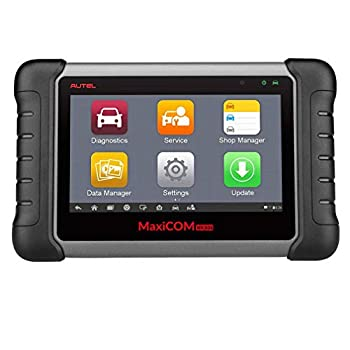Image of Autel MaxiCOM MK808 OBD2 Diagnostic Scan Tool with All System and Service Functions including Oil Reset, EPB, BMS, SAS, DPF, TPMS and IMMO (MD802+MaxiCheck Pro) Code Readers & Scan Tools