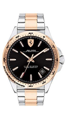 Scuderia Ferrari Analog Black Dial Men's Watch 0830528