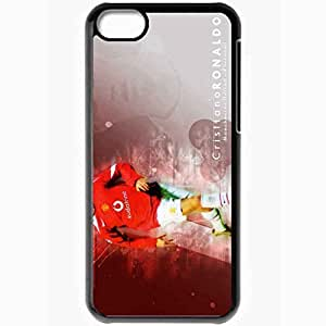 XiFu*MeiPersonalized ipod touch 5 Cell phone Case/Cover Skin Cristiano ronaldo uefa manchester united BlackXiFu*Mei