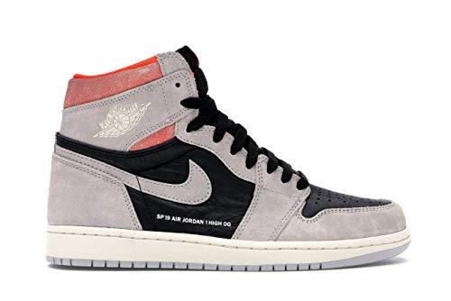 Air Jordan 1 Retro High Og 'Grey Crimson' - 555088-018 - Size 15