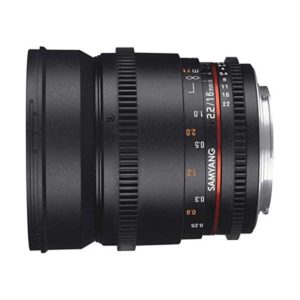 RetinaPix Samyang 16 MM T2.2 VDSLR II Manual Focus Cine Lens for Sony E
