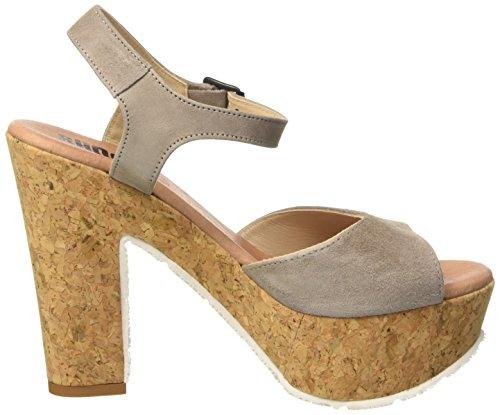 Beige 160171vv Leder High Sommer Shoes Damen Sandale Heels Tortora Donna Beige Plateau Sandali Sh SHOOT wZqOEXB