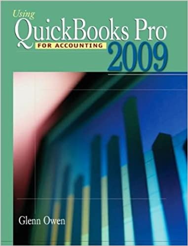 Using Quickbooks Pro 2009 For Accounting Text Only 8th Lib