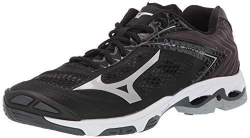 8952749c0cc6 Mizuno Men's Wave Lightning Z5 Volleyball Shoe, blacksilver, 11 D US