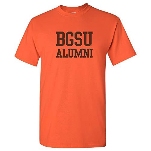 AS05 - BGSU Falcons Block Alumni T-Shirt - Medium - Orange (Alumni Clothing)