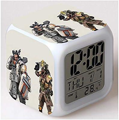 Amazon.com: Apex Legends Wake Up Alarm Clock Digital LED ...