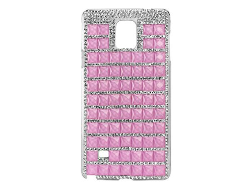 Cellet Fancy Lux Crystal Series Proguard Clear Cover Case for Samsung Galaxy Note 4 -  Purple