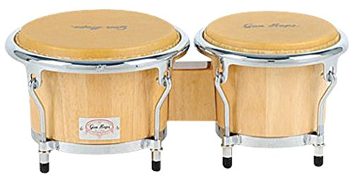 Gon Bops Tumbao Pro Series Bongo, 7 and 8.5-inch, Natural by Gon Bops