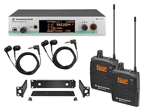 Sennheiser Consumer Audio Compatible with Sennheiser EW 300-2IEM G3 – In-ear Monitoring System – A-Range 516 – 558 MHz