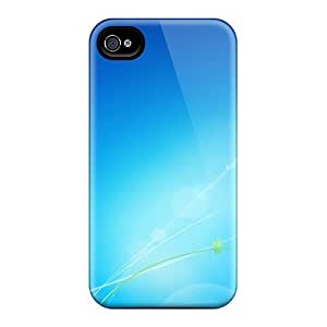 Mialisabblake SuibZMa2641WIjuz Protective Case For Iphone 4/4s(light Swirls)